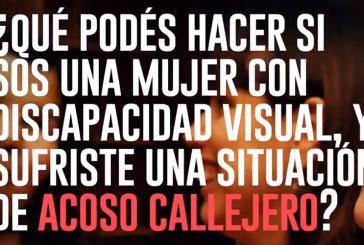 Violencia de género | Presentan audioguía para que personas con discapacidad visual puedan denunciar