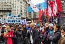 Las organizaciones populares mostraron fuerzas en la calle